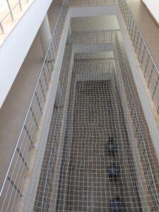 Merdiven Boşluğu Güvenlik Ağı